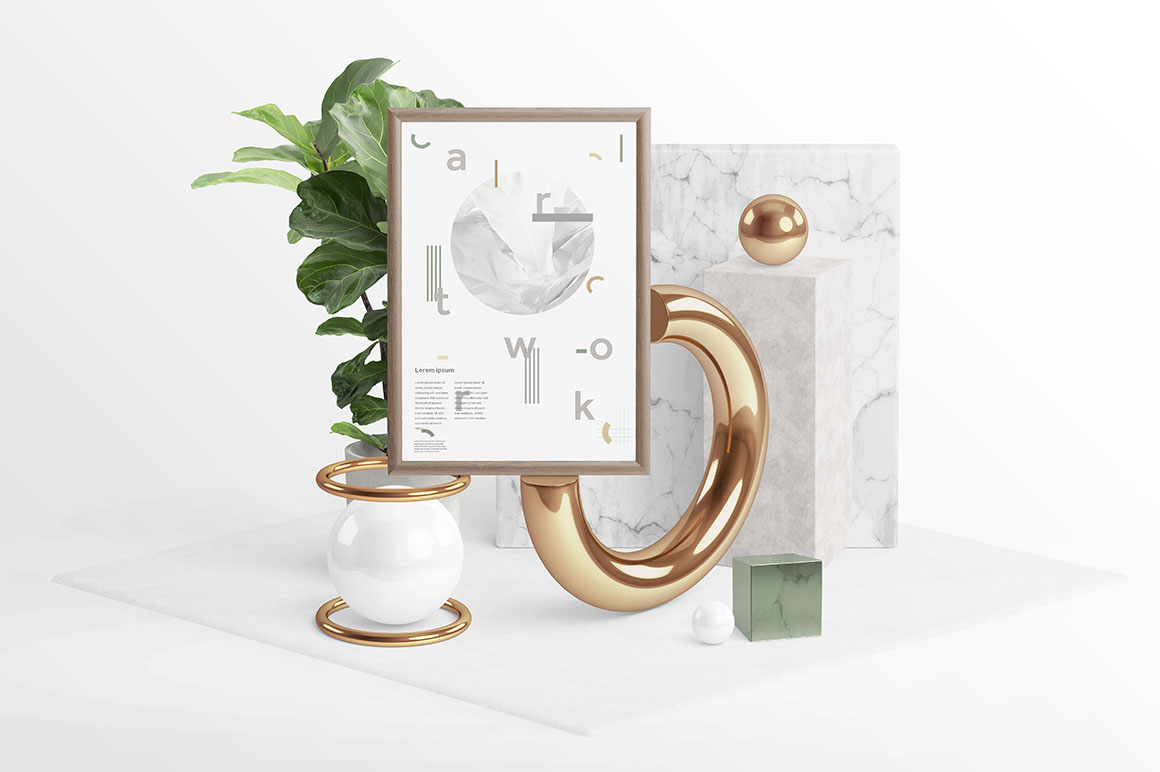5858262c9acd 27 Excellent Picture Frame Mockups For Every Project - Colorlib