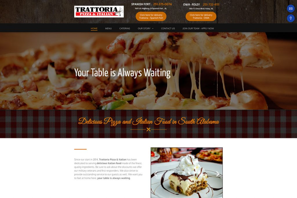 Trattoria Pizza & Italian