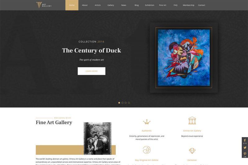 19 Excellent Art Gallery Websites To Explore 2020