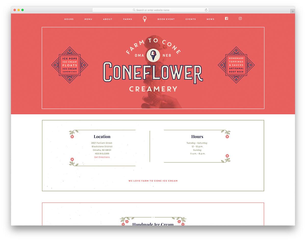 Cone Flower Creamery