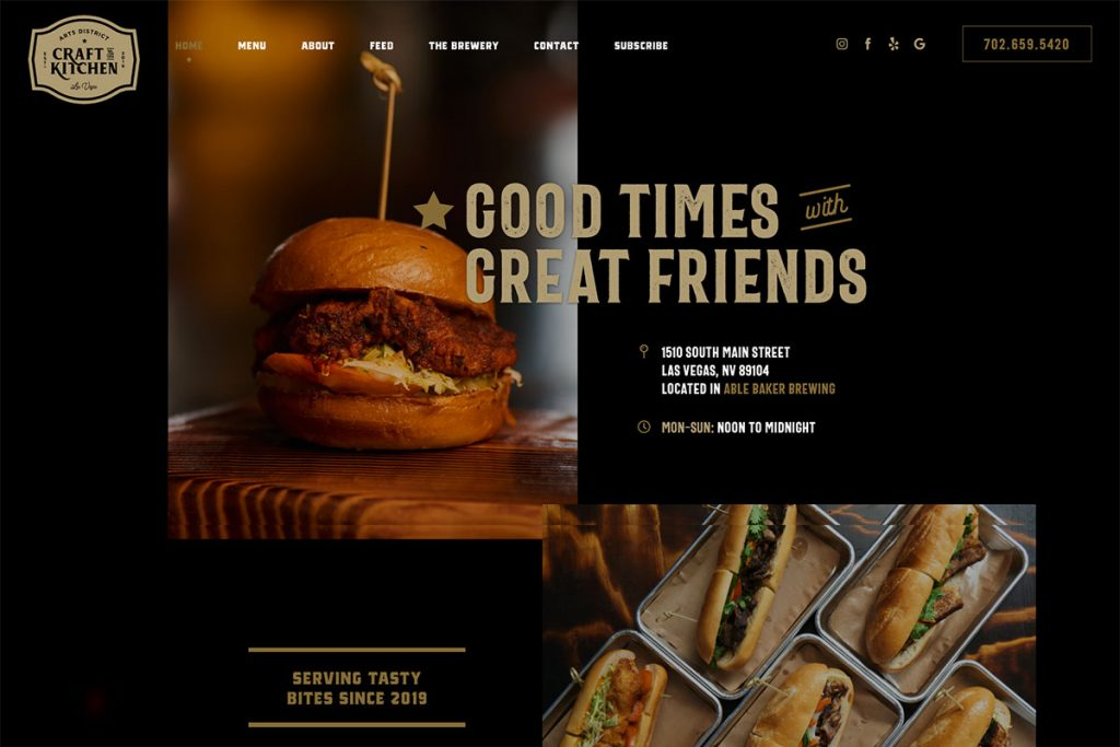 , 20 Best Restaurant Website Designs Inspiration2020, Rojak WP