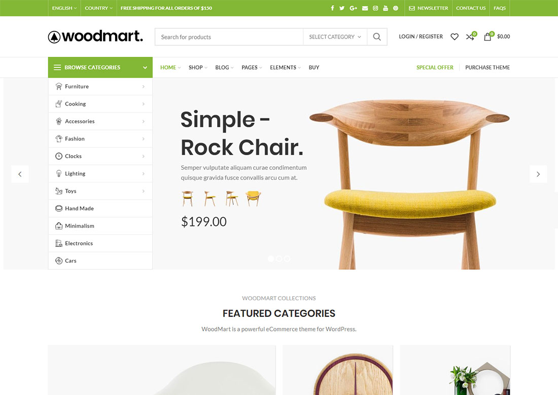 woodmart mobile friendly ecommerce theme