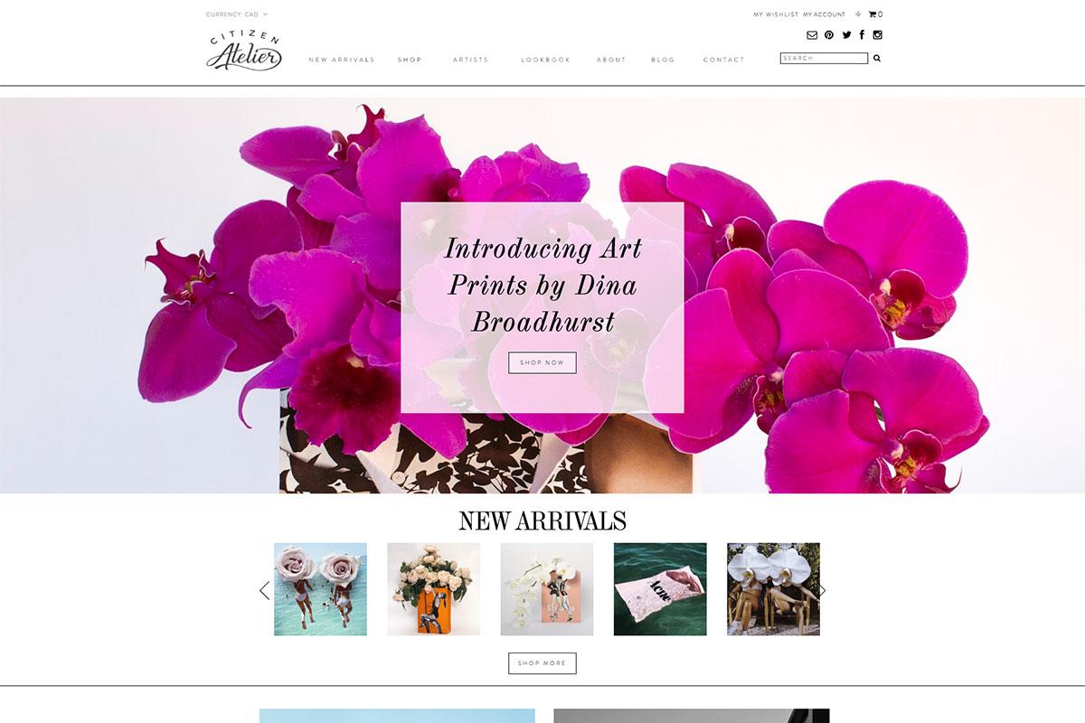 Citizen Atelier artist website