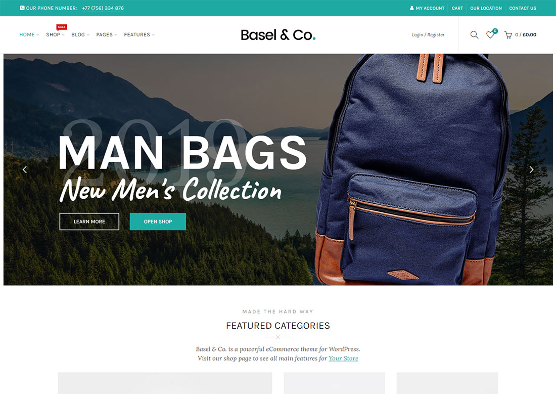 basel mobile friendly ecommerce theme