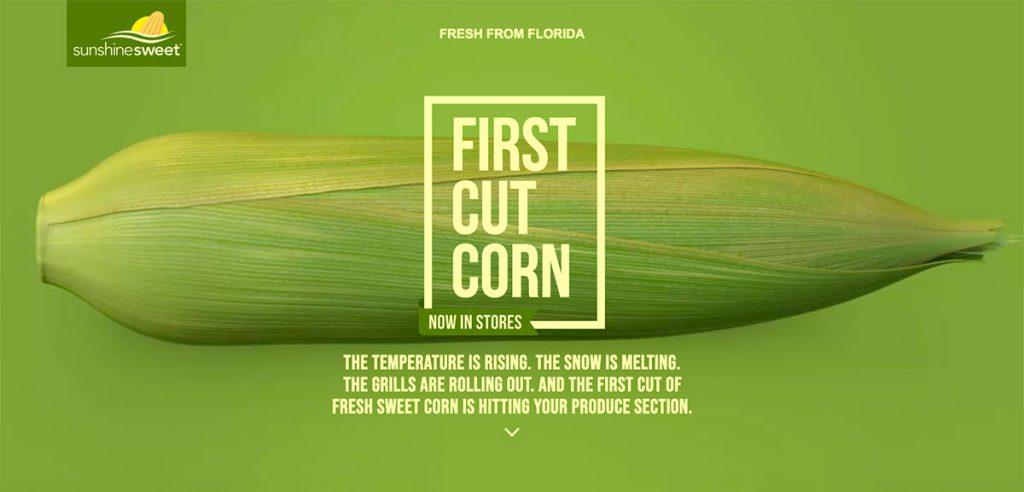 First Cut Corn