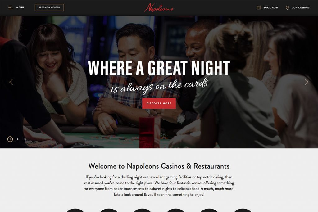 Napoleons Casinos and Restaurants