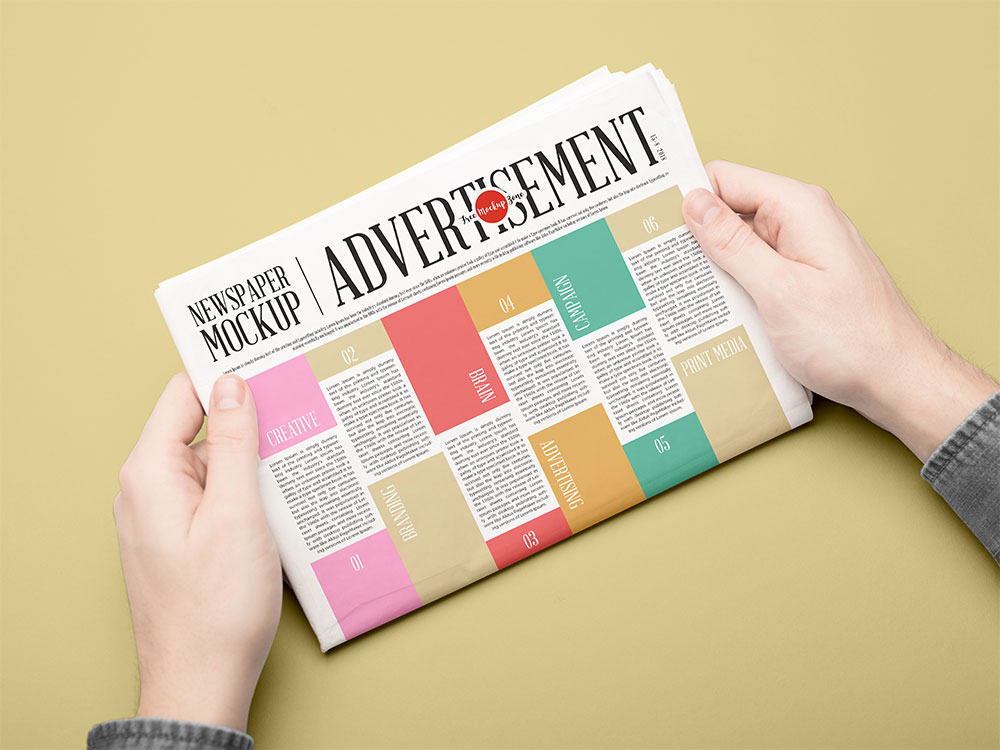 free newspaper templates