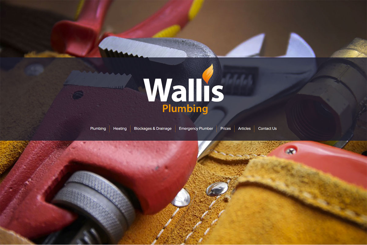 Wallis-Plumbing Websites Design