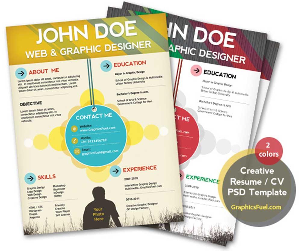 9161e035 27 Useful Resume Mockups To Create Professional Resume - Colorlib