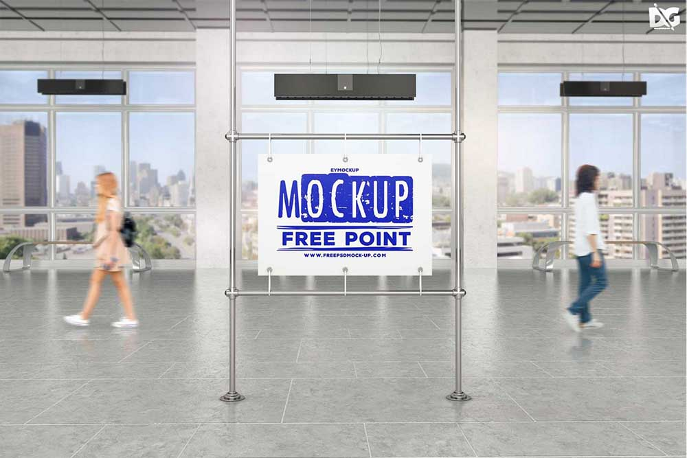 subway ad mockups