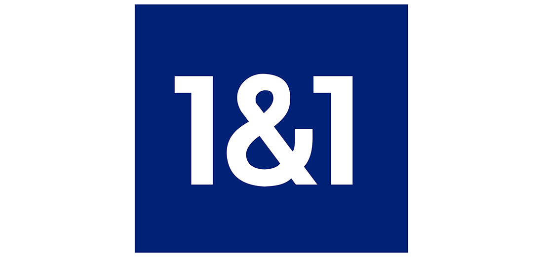 1&1 hosting logo