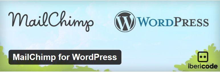 2-07 MailChimp for WordPress Plugin