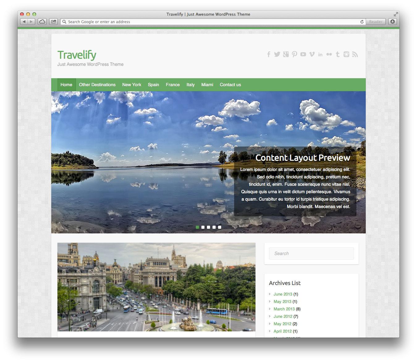 travelify desktop preview