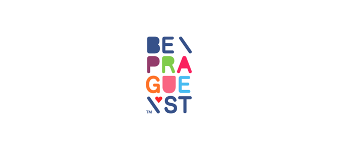 Be Prague St. Flat Logo