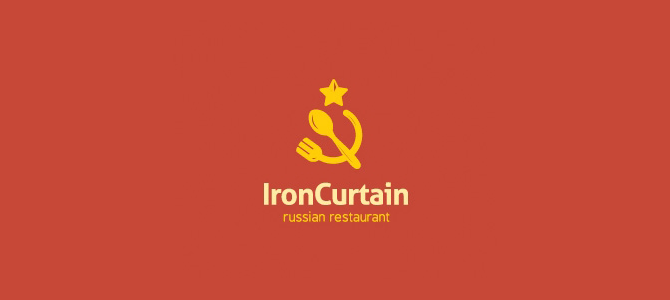 Iron Curtain Flat Logo