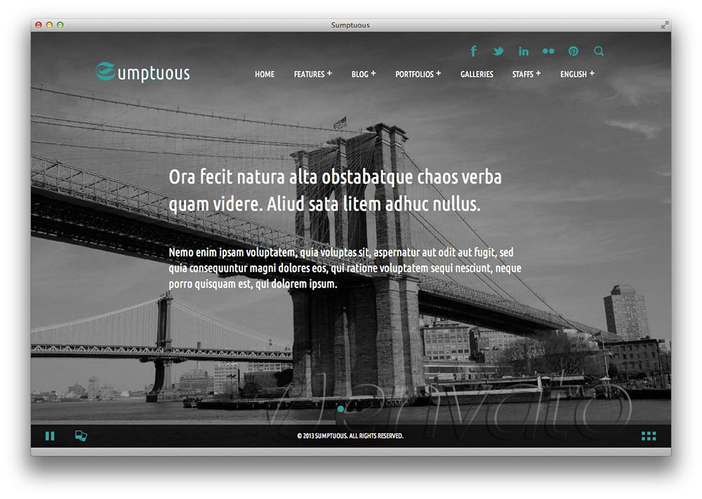 Sumptuous - Responsive Multi-purpose Theme