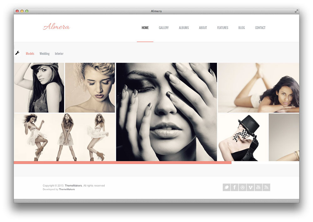 almera WordPress theme