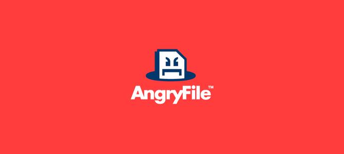 AngryFile Flat Logo
