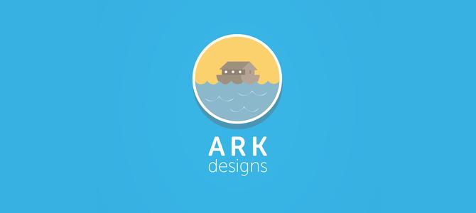 Ark Design flat logo
