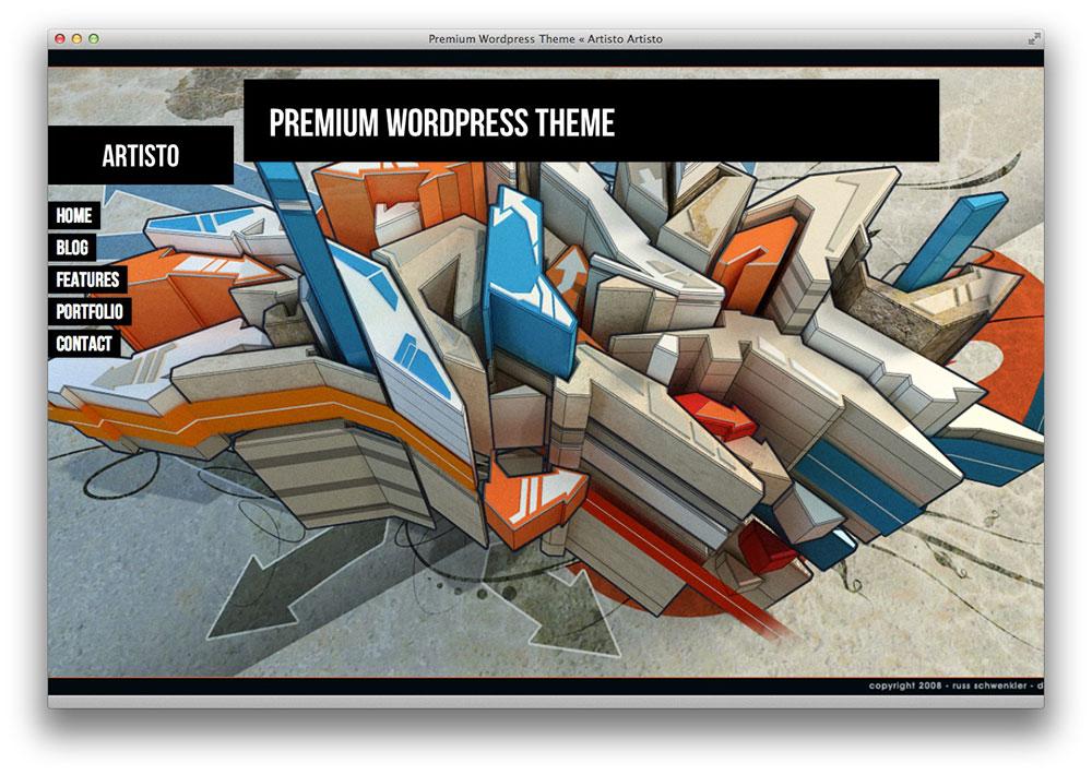 artisto theme WordPress theme