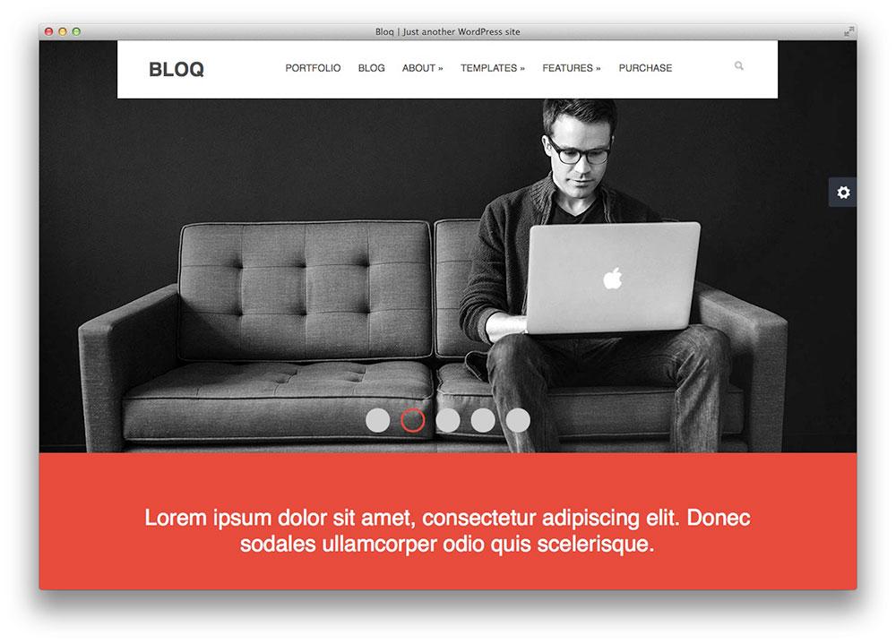 Bloq Tema WordPress Revistas Pará de e blogs