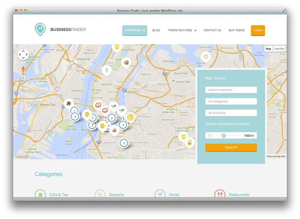 business finder wordpress theme