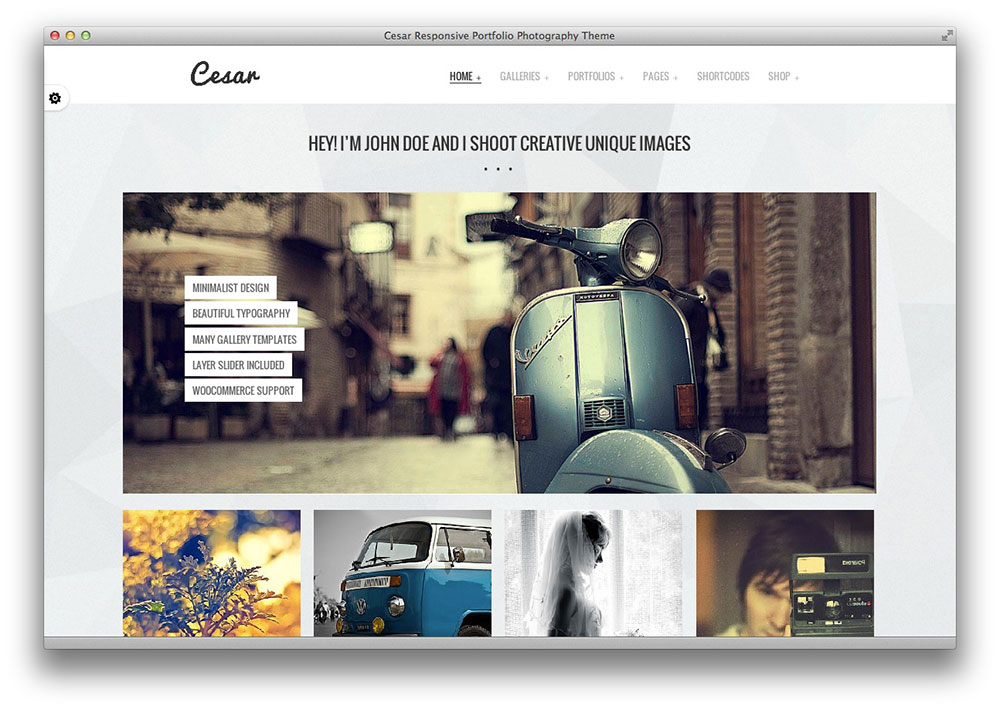 cesar wordpress theme