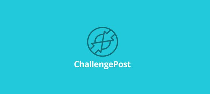 Challenge Post Flat Logo