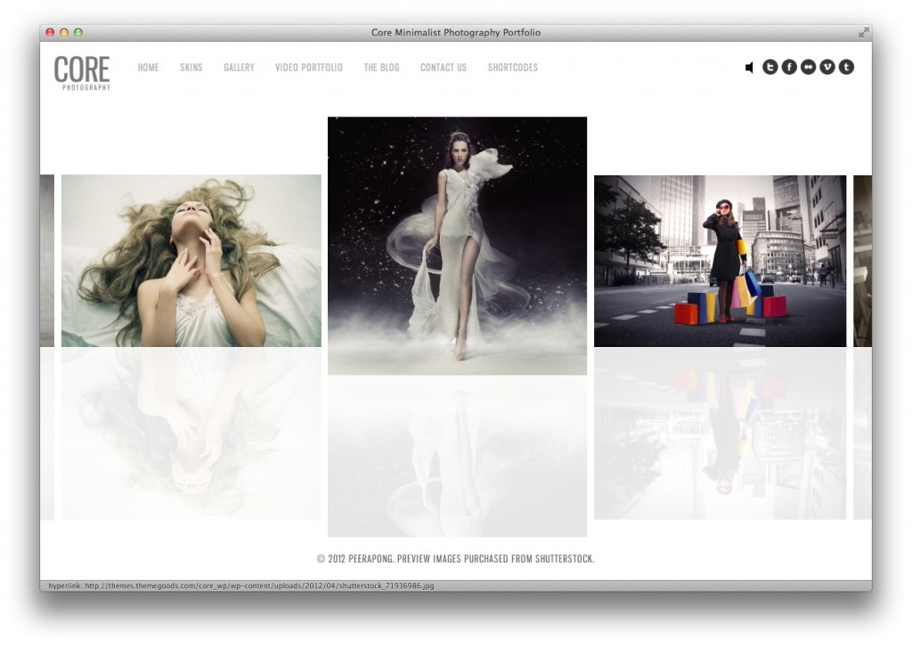 Core Photography Theme