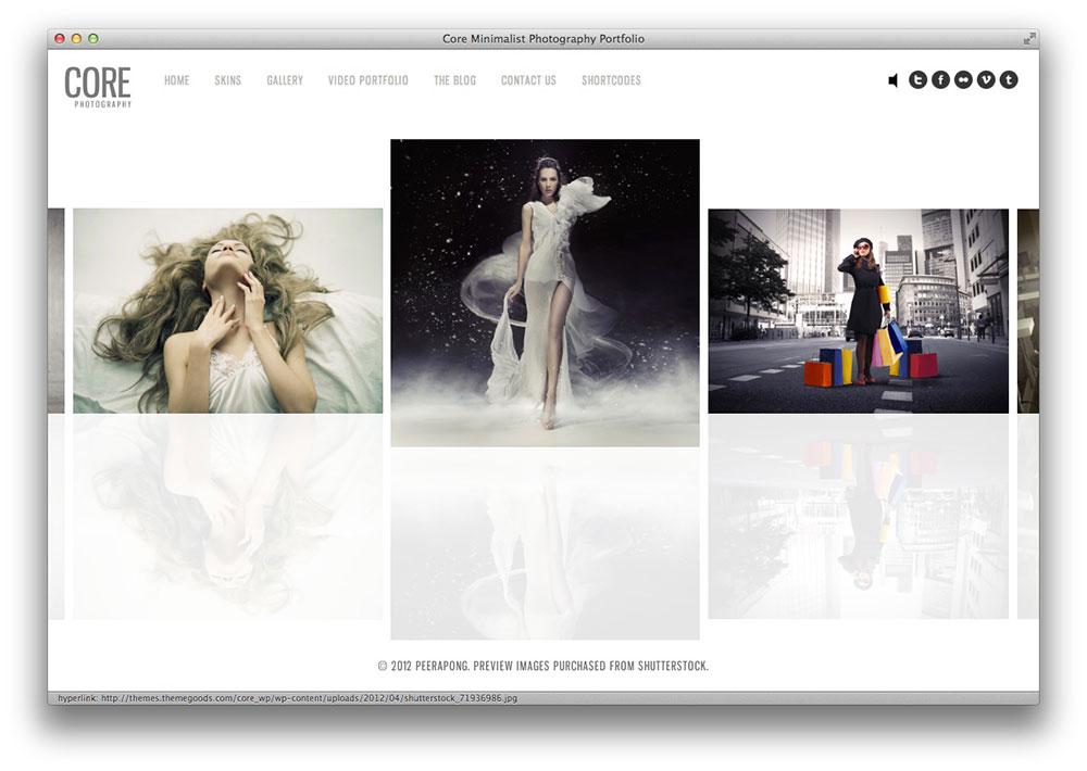 Core Photography Theme