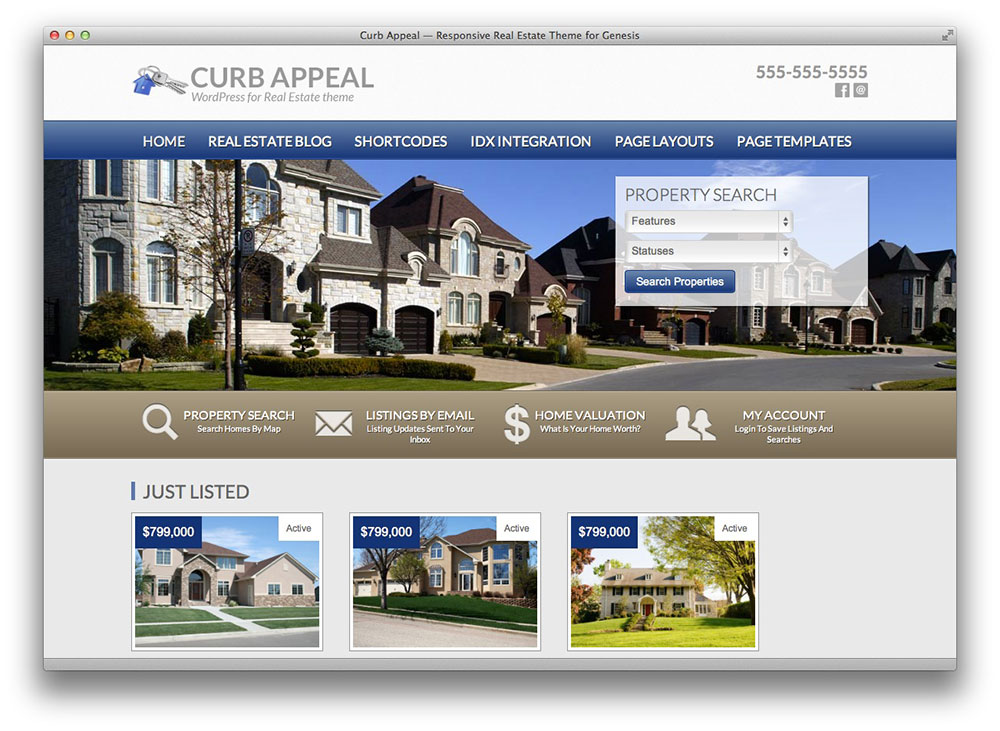 curb appeal theme