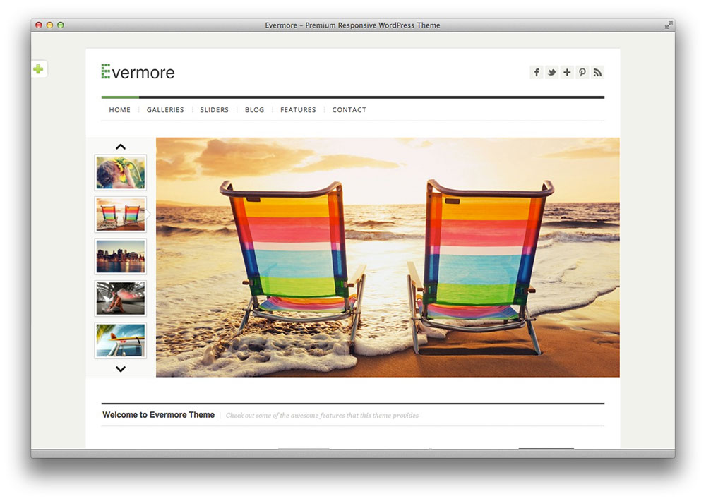 evermore wordpress theme