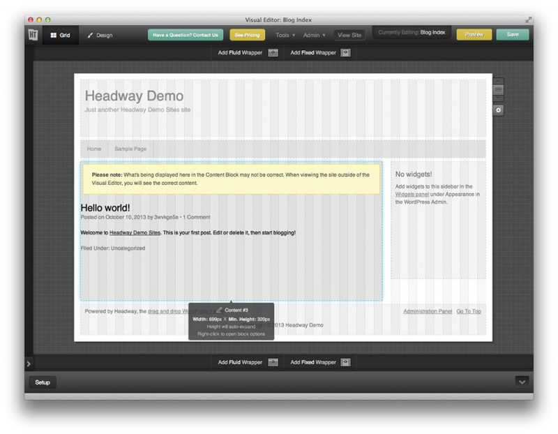 Headway – Drag And Drop Theme Builder For WordPress