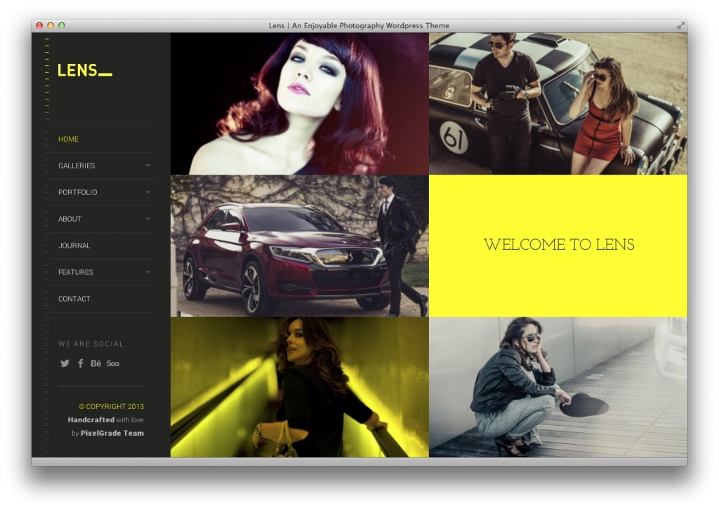 Lens Photography Theme