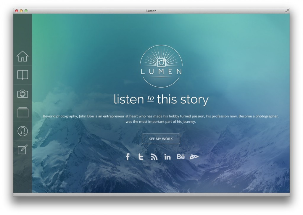 Lumen WordPress theme