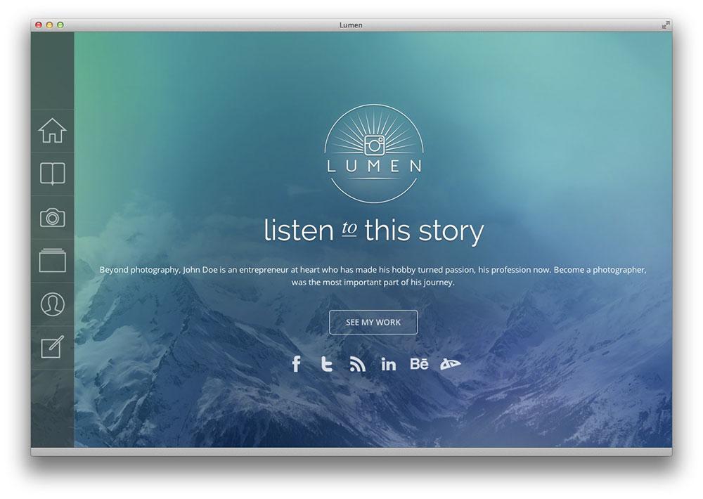 Lumen WordPress theme