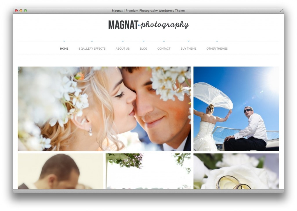 magnat WordPress theme
