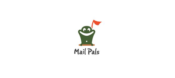 Mail Pals Flat Logo