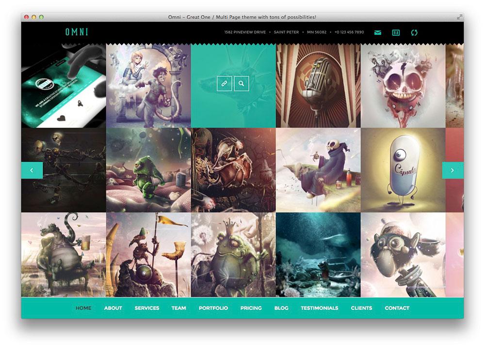 Omni Plano Tema WordPress