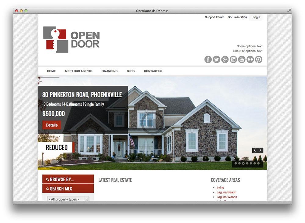 OpenDoor Responsive WordPress Theme