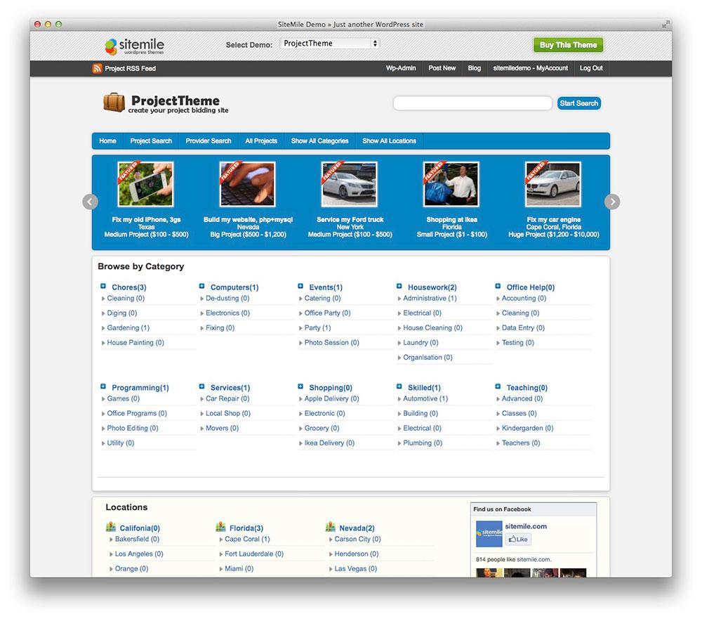 Project WordPress Theme