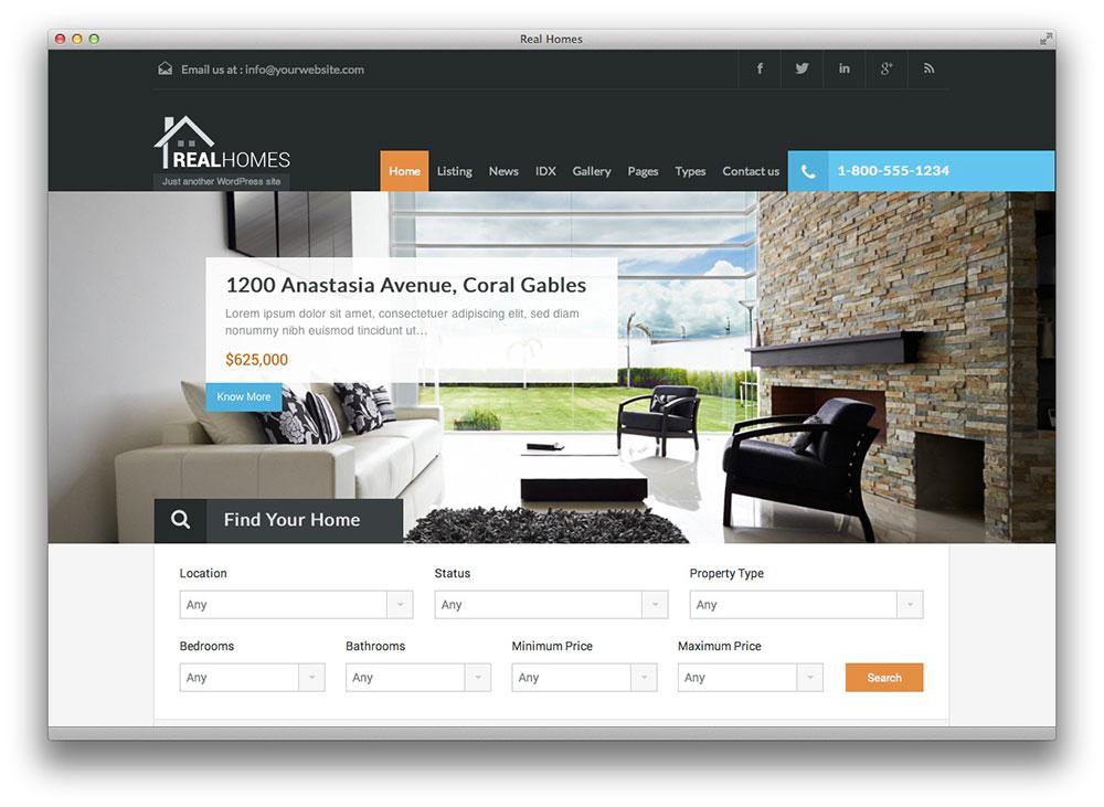 Real Homes - WordPress Theme