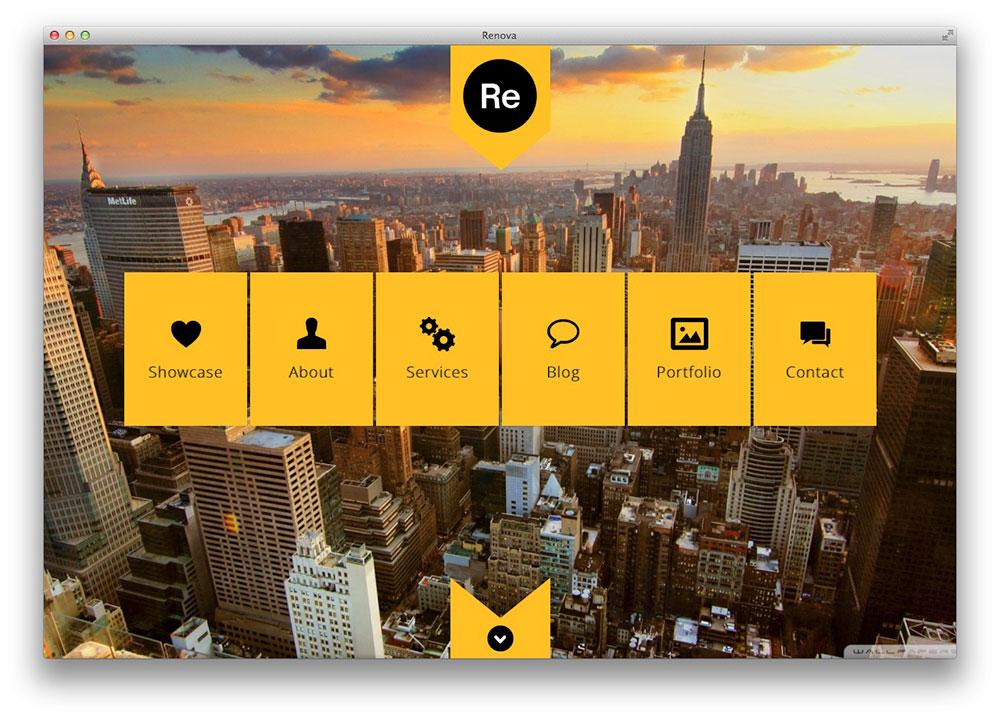 RENOVA - WordPress p�gina Uma Portfolio Responsive