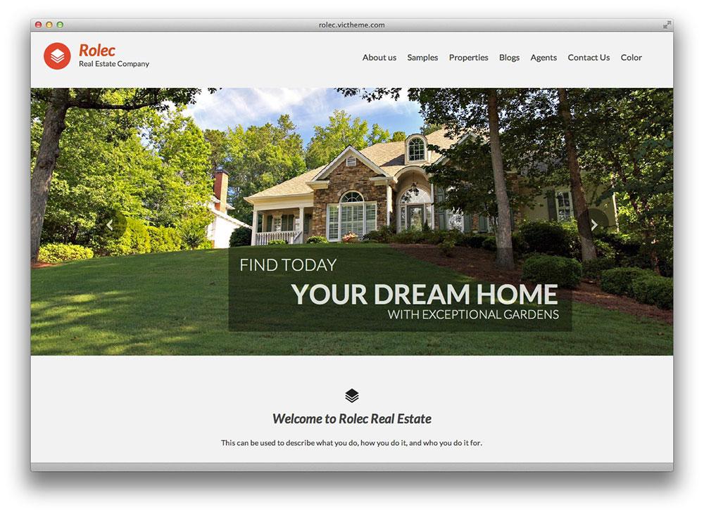 rolec - WordPress theme