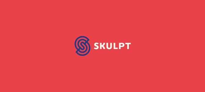 Skulpt flat logo
