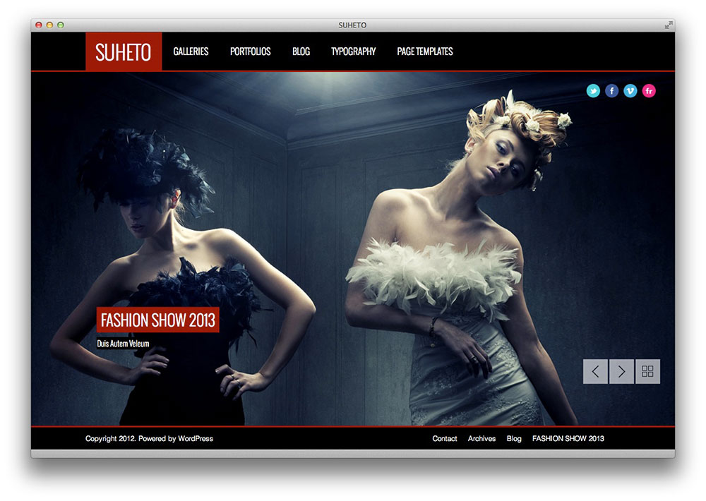 suheto wordpress theme