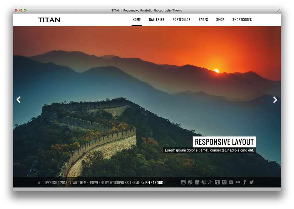 Titan Responsive WordPress Theme