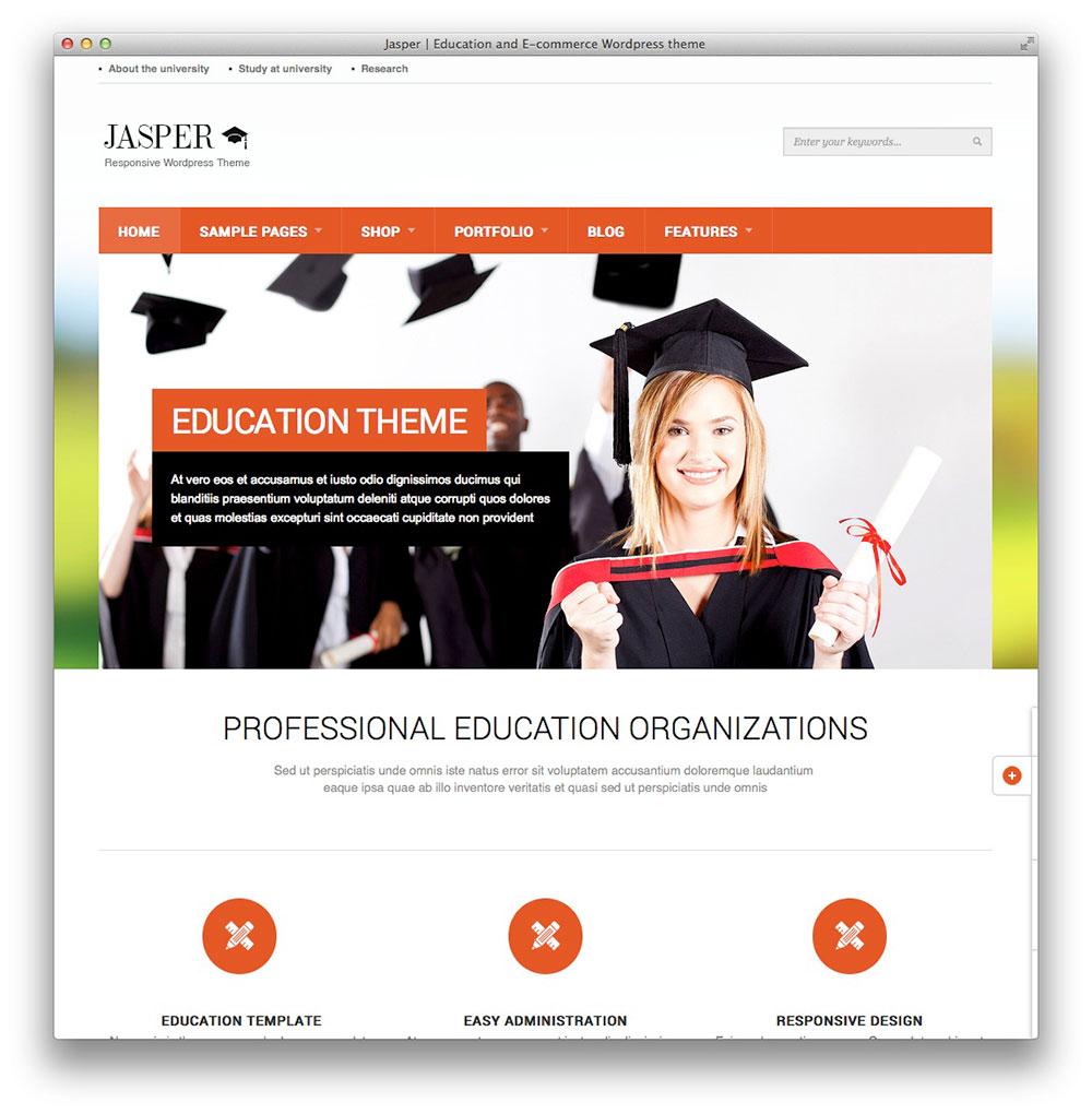 Jasper WordPress theme