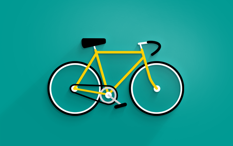 Just a bike logo