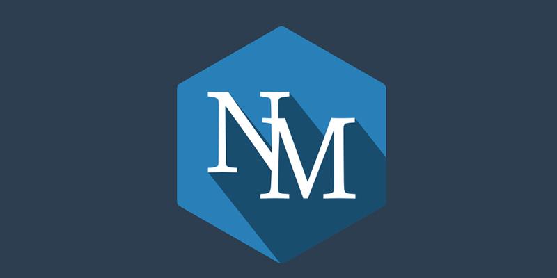 NM Long sahdow logo